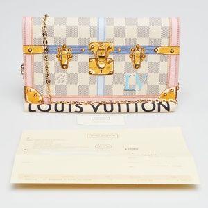 LOUIS VUITTON Limited Edition Damier Azur Canvas